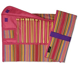 "Clover 9"" Single Point Getaway Knitting Needle Gift Set"