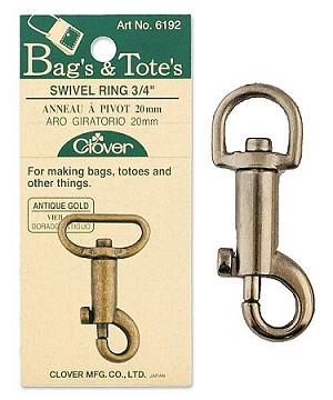 Clover Swivel Rings