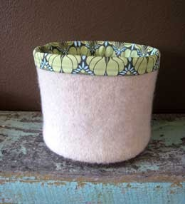 Cocoknits Felted Buckets