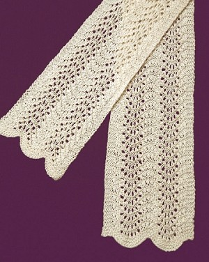 Fiber Trends Dawn Easy Lace Scarf Kit