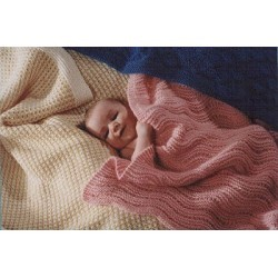 Fiber Trends Easy Knit Baby Blankets
