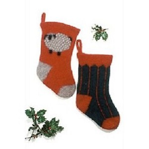 Fiber Trends Felt Christmas Stockings