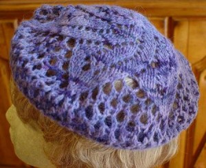 HeartStrings Lace Doily Beret