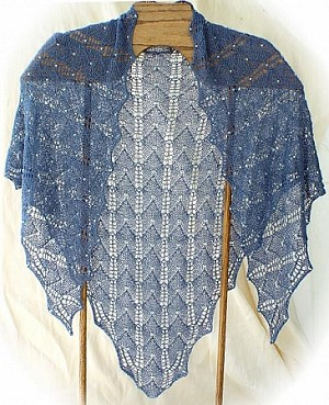 HeartStrings Beaded Lux Shoulder Shawl