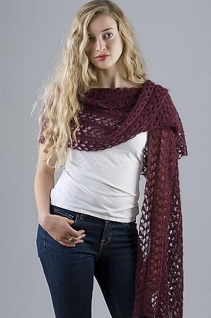 HeartStrings Lace Starlight Stole