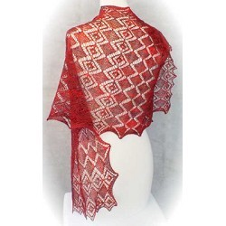 HeartStrings Faceted Gems Lace Wrap
