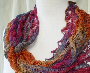 HeartStrings Ring of Lace Wrap