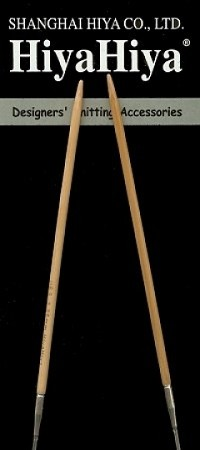 "HiyaHiya 40"" Bamboo Circular Knitting Needles"