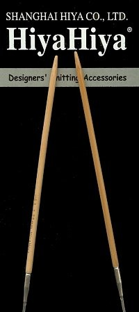 "HiyaHiya 60"" Bamboo Circular Knitting Needles"