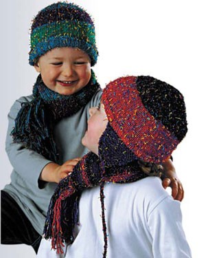 Naturally Hats and Scarves for Children