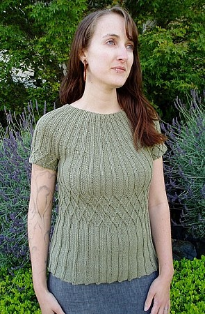 Kira K Designs Lattice Pullover