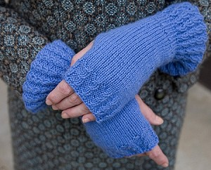 Knit and Tonic Luxe Mitts
