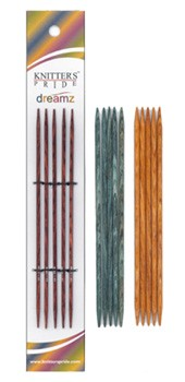 "Knitter's Pride Symfonie Dreamz 6"" Double Point Knitting Needles"
