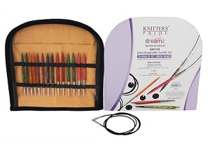 "Knitter's Pride Symfonie Dreamz Interchangeable Knitting Needle 16"" Set"