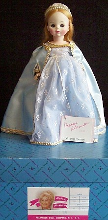 "14"" Madame Alexander Doll Sleeping Beauty 1596"