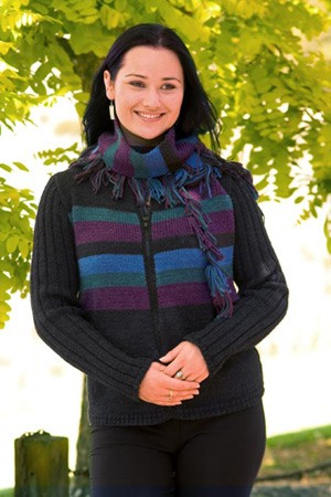 Naturally Jacket & Scarf N1027