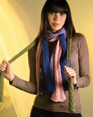 Naturally Four Lace Scarves, Collection 2