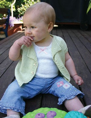 Naturally Infant's Top, Jacket and Singlet