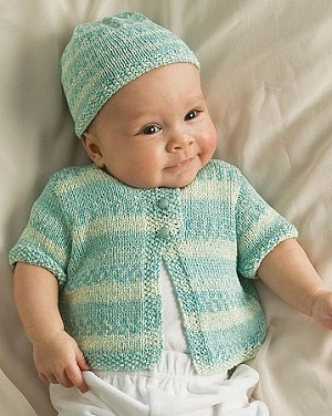 Naturally Infant's Jacket and Hat