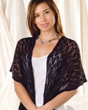 Naturally Lace Shawl and Sleeveless Top