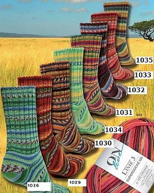 Online Supersocke 100 Savanne Color Sock Yarn