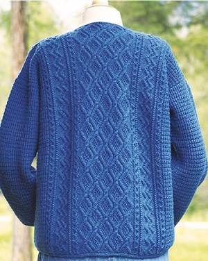 Big Sky Knitting Designs Moss Trellis Aran
