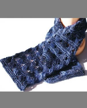 Big Sky Knitting Designs Night Music Scarf