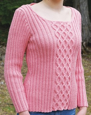 Big Sky Knitting Designs Bubblegum Pullover