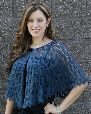 Fiber Trends Feathers Shawl
