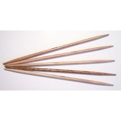 "Surina 7"" Wooden Double Point Needles"