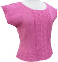 Y2Knit Capped Top