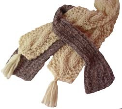 Y2Knit Thick and Thin Scarves
